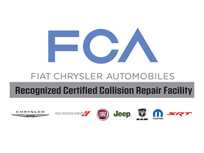 Fiat Chrysler Certified Collision Repair Facility