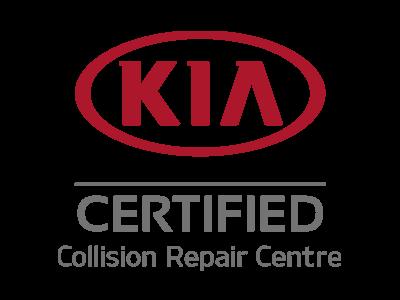 Kia Collision Certified repair centre
